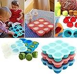 UMIGAL Babybrei Aufbewahrung zum Einfrieren von Babynahrung und als Behälter für Beikost Gefriertablett zum Einfrieren und Aufbewahren von Babynahrung (Green)