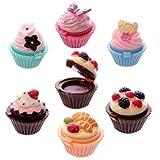 Fun Lip Gloss in Sweet Fairy Cake Halter, sortiert (1Stck.)