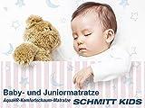 Babymatratze und Juniormatratze 'Schmitt Kids' mit Air-Ausstattung 70x140 AquaHR-Schaum MADE IN GERMANY Bezug waschbar teilbar Öko Tex Zertifikat | für alle gängigen Baby Junior Ikea Betten | Matratze schadstoffgeprüft