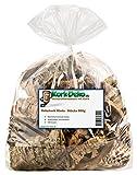 Korkstücke   Korkrinde (Bruchstücke der Rinde der Korkeiche) 500g-Beutel. Für Haustiere (Nager, Vögel, Terrarium), Hobby und Basteln (Modellbau) oder Deko (Dekoration Blumen, Gestecken, Floristik)