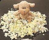 2€/kg -- 5kg Füllmaterial Schaumstoffflocken Schaumstoff Flocken Kissenfüllung Teddyfüllung Schaumstoff Kissen Füllung , Füllung Hundebetten