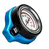 XXYHYQHJD 0,9 Bar 1,1 Bar 1,3 Bar Thermostatanzeige Kühlerdeckel Tankdeckel Auto Hochdruck-Temperaturanzeige Kappe (Color : Schwarz, Size : 1.3)