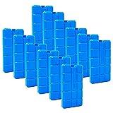 ToCi 4er Set Kühlakku mit je 200 ml   4 Blaue Kühlelemente für die Kühltasche oder Kühlbox