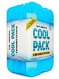 Kühlakku für Lunchbox - Gefrierpackungen - Original Kühlakku (6er Set)   Schlanke & langlebige Kühlakkus für Ihre Lunch- oder Kühltasche