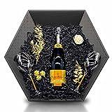 Veuve Clicquot Brut Vintage 2012 Champagne 12% 0,75 l Geschenkset inkl. 2 Veuve Clicquot Gläser mit orangenem Stil