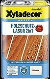 Xyladecor Holzschutzlasur 4 l Außen Imprägnierung Holzschutzmittel (Weißbuche)